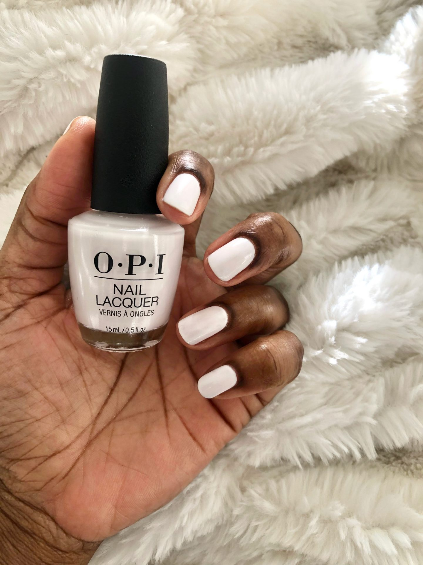 Winter White Nails